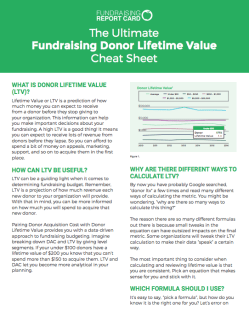 The-Ultimate-Fundraising-Donor-Lifetime-Value-Cheat-Sheet
