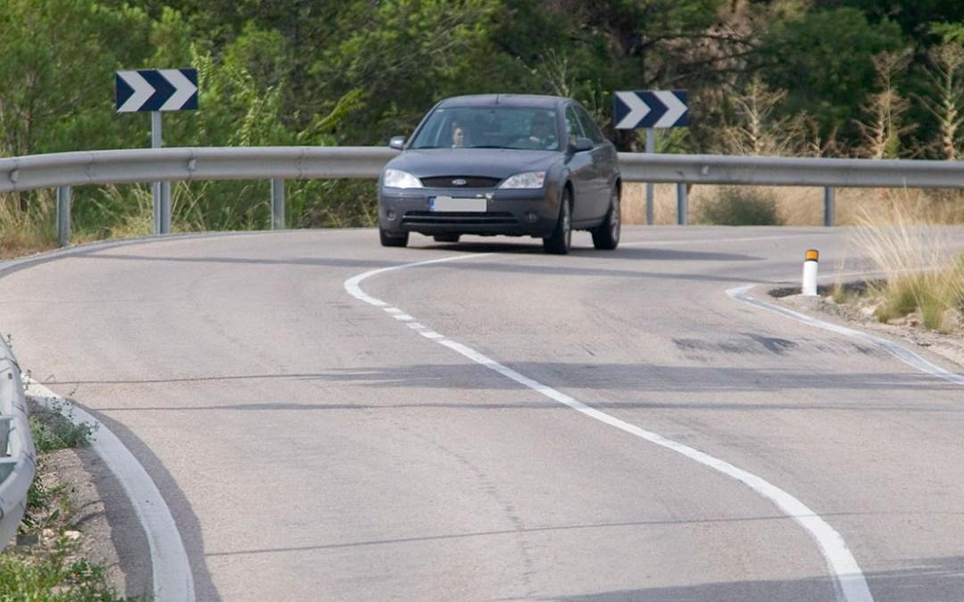 Tráfico actualiza los tramos de vías convencionales más peligrosos para circular
