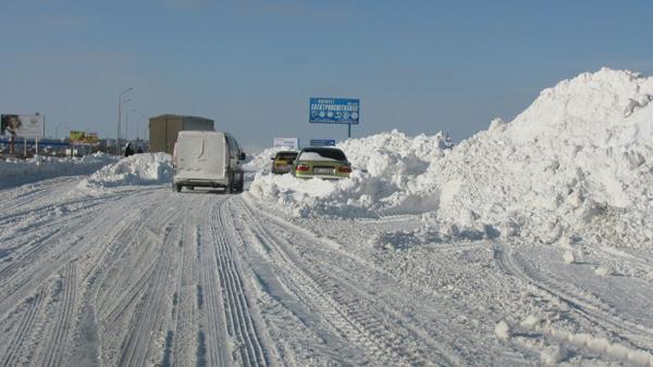 Consejos para evitar hace eslalon al conducir con nieve