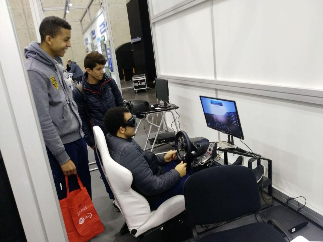 simuladores de conducción Fundtrafic
