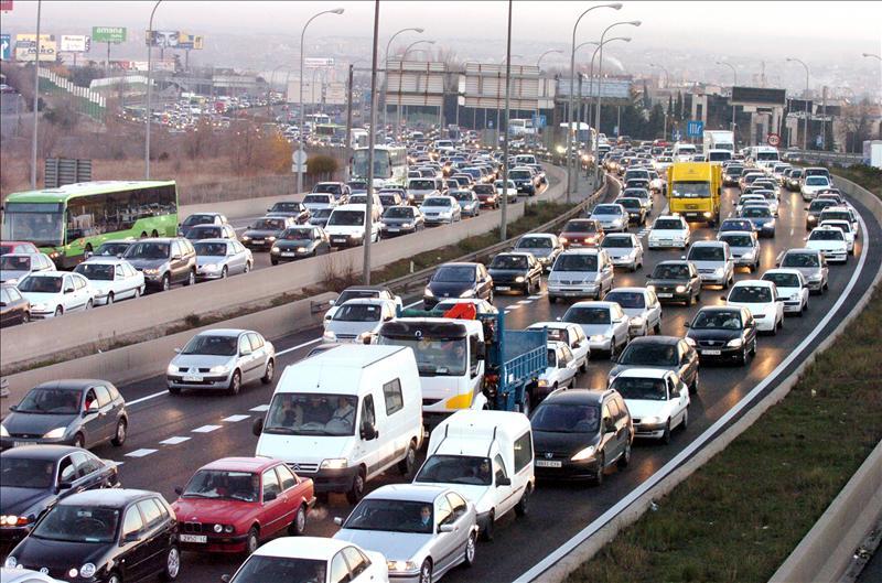 La DGT prevé 6.7 millones de desplazamientos en el puente de diciembre