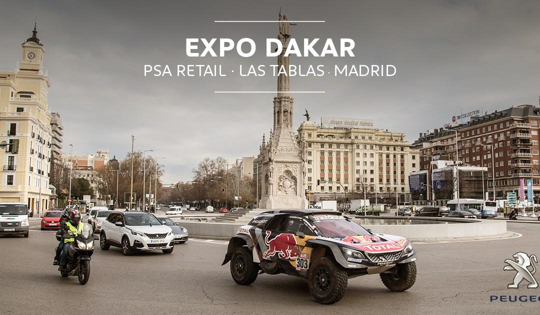 Este fin de semana toca Expo Dakar con Peugeot