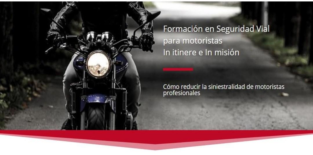 Reduce los accidentes de moto en la empresa
