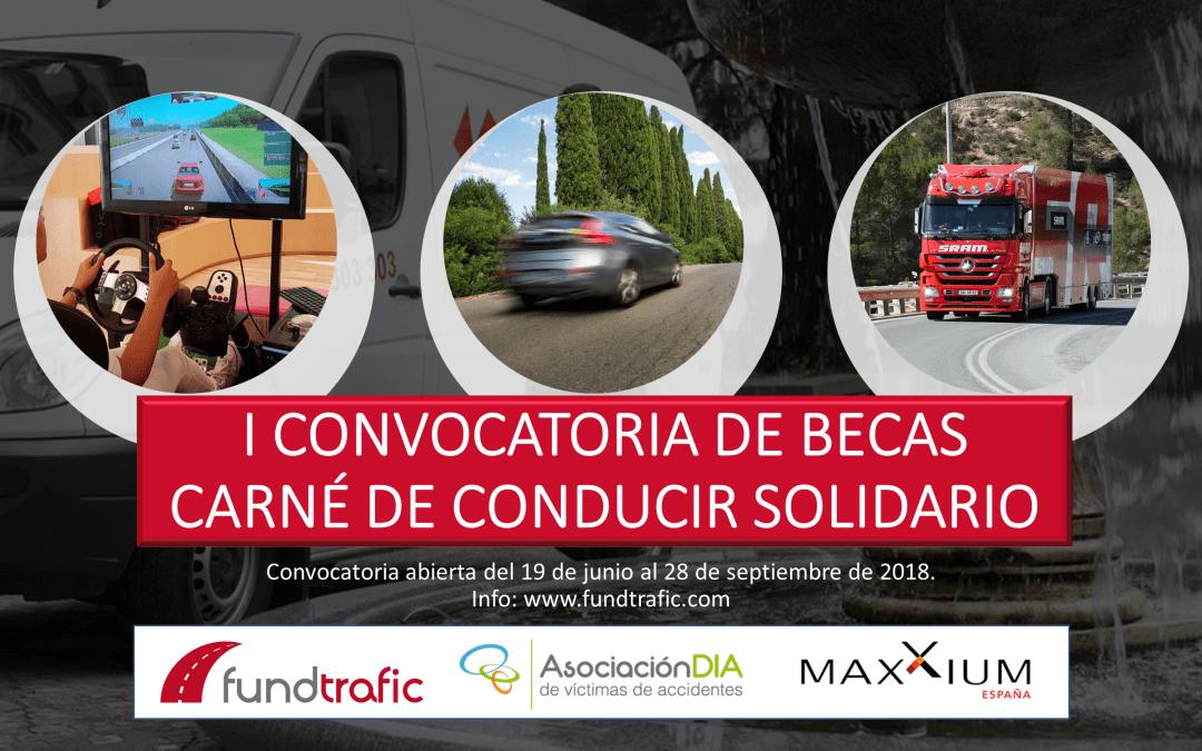 Alianza entre Fundtrafic y Maxxium al desarrollar el Carné de Conducir Solidario