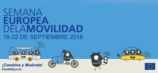 Fundtrafic se suma a la Semana Europea de la Movilidad 2018