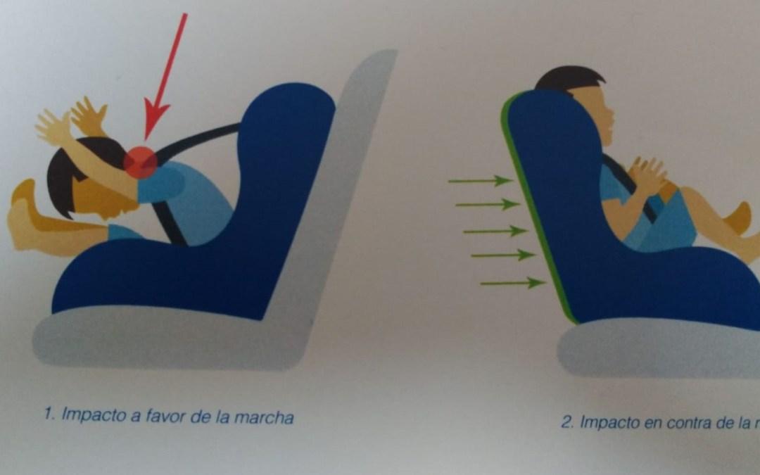 """""""A contramarcha"""" la única opción para llevar a tu hijo seguro en el coche"""