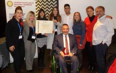 Francisco Canes premiado en el 3er Congreso Nacional de Salud Laboral y Prevención de Riesgos