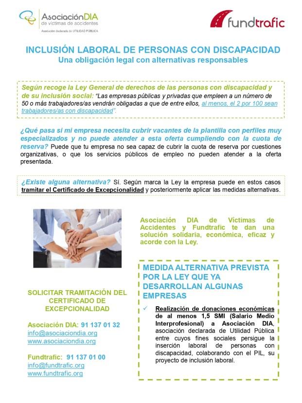 cuota de reserva para personas con discapacidad Certificado Excepcionalidad-2019_