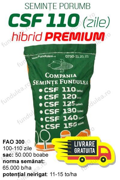 Samanta porumb CSF 110 (zile), Compania Seminte Fundulea