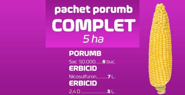 pachet porumb COMPLET 5ha