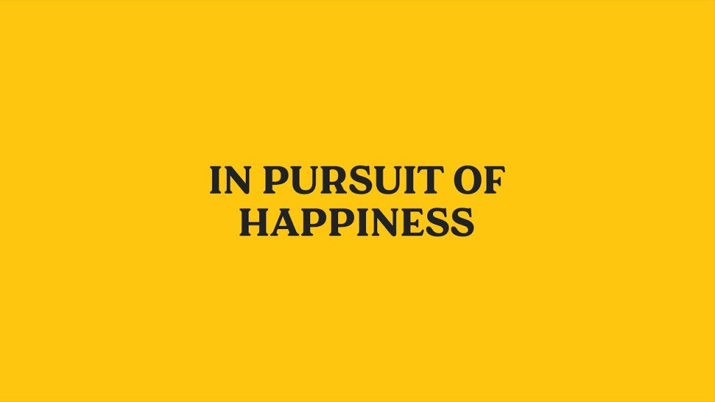 Happiness Topic Ideas