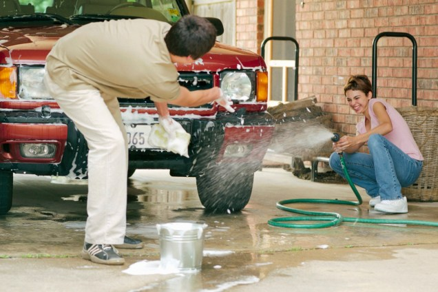 Image result for couples washing car together