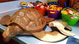 Biodegradable Sea Turtle with Cremains