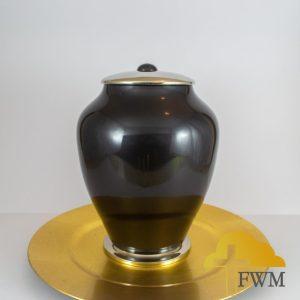 black_metal_cremation_urn_jar