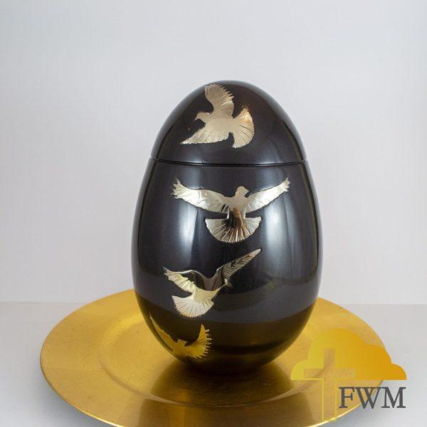 bird_metal_brass_cremation_urn_jar