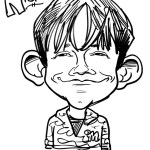 ca&m bw caricature sample 03