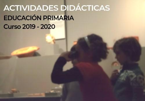 Dossier de actividades didácticas para centros de Primaria
