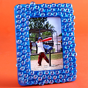 Glass Pebble Frame Fun Family Crafts