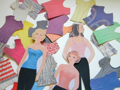Magazine Fashion Paper Dolls