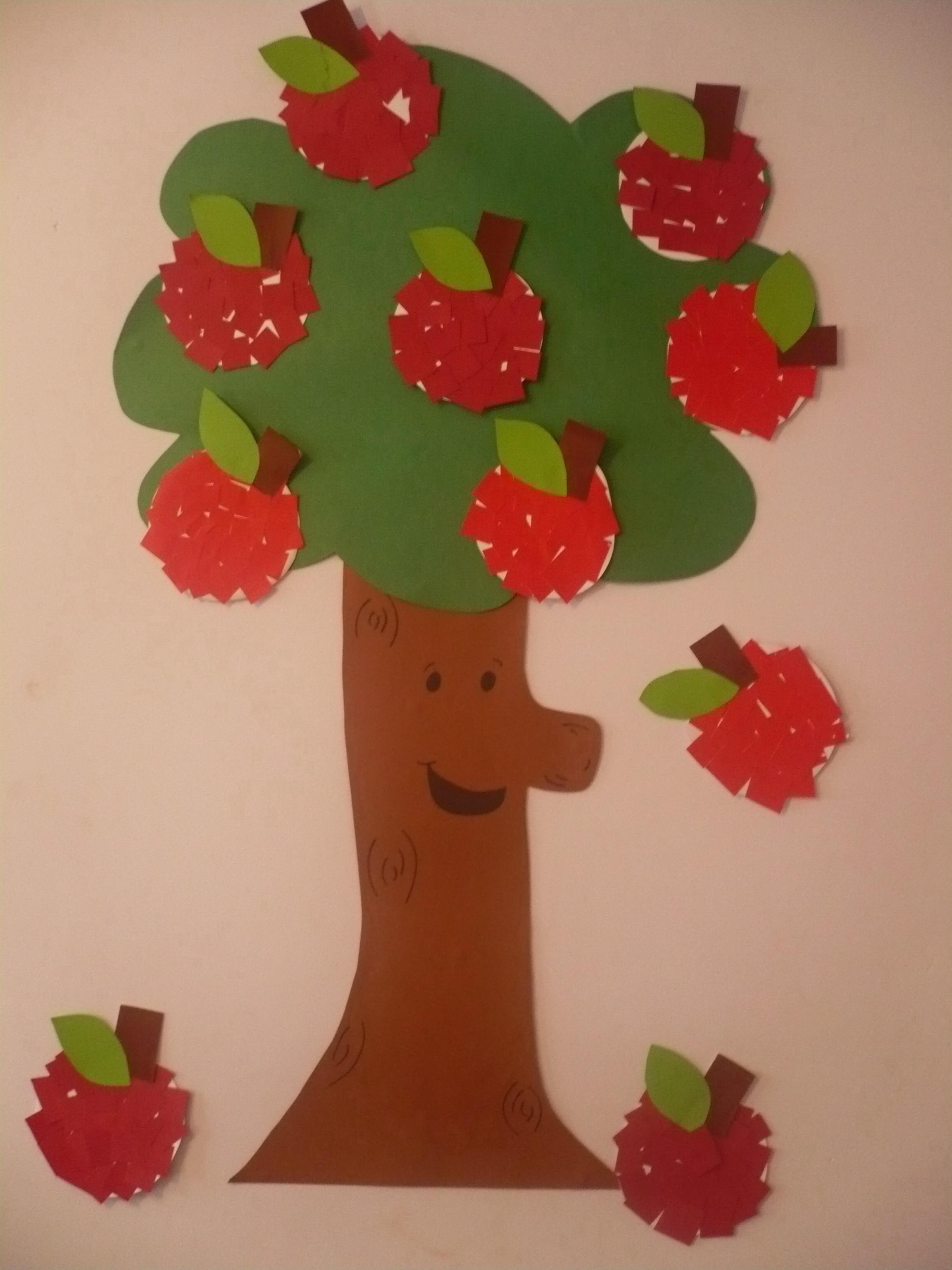 Paper Apple Tree