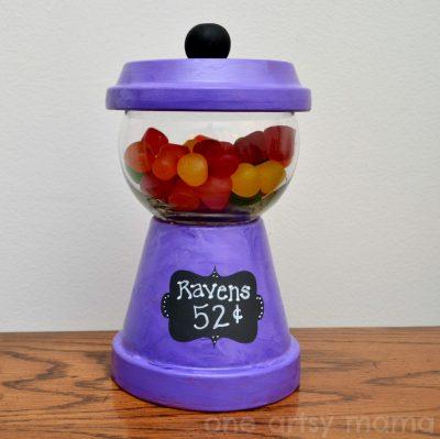 Gumball Machine Candy Dish Fun Family Crafts