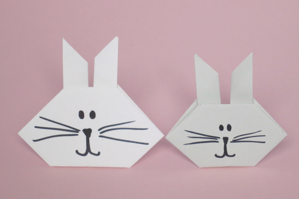 Origami Bunny Fun Family Crafts