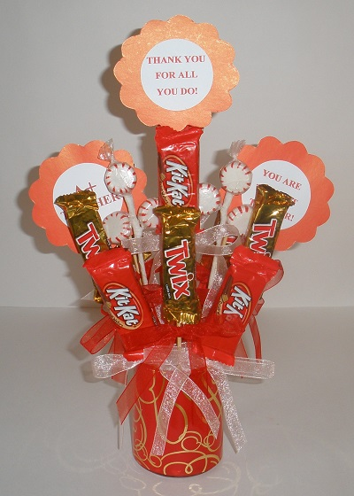 Candy Bouquet Gift Fun Family Crafts