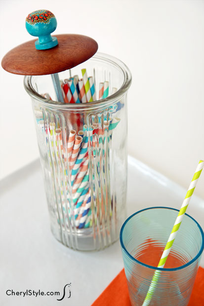 Straw Holder Fun Family Crafts