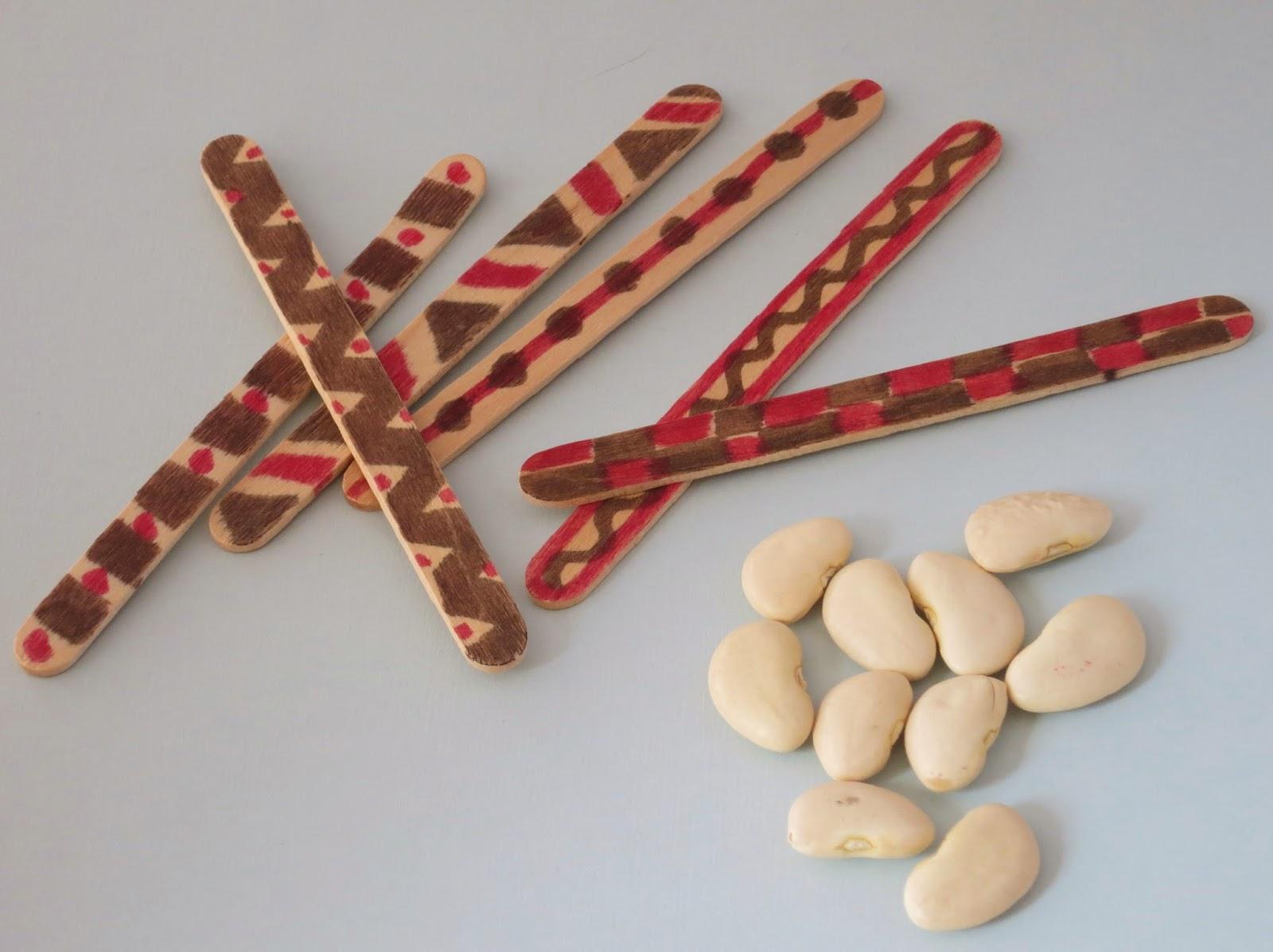 Native American Stick Game