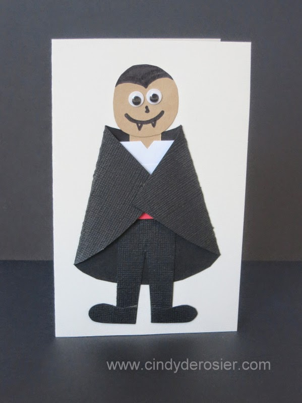 Vampire Card Fun Family Crafts