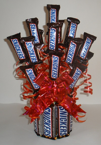 Snickers Candy Bouquet Fun Family Crafts