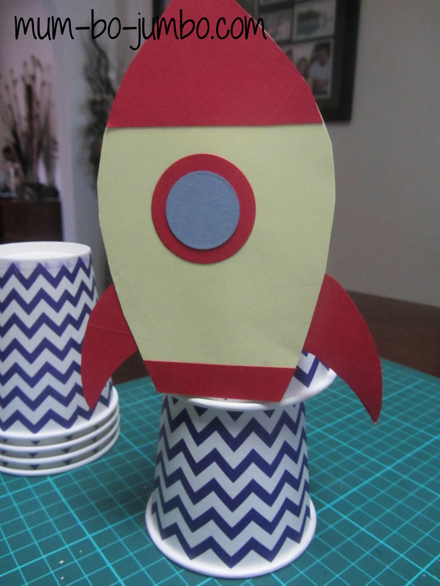 Rocket Ship Blast Off Fun Family Crafts