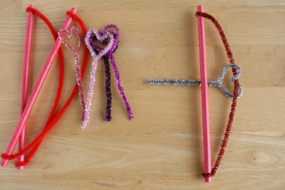 Cupids Bow And Arrow Fun Family Crafts