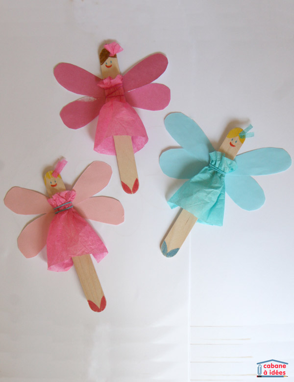 Popsicle Stick Fairies Fun Family Crafts