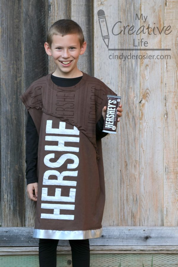 T Shirt Hershey Bar Halloween Costume Fun Family Crafts