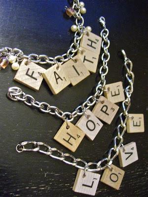 scrabble bracelets fun family crafts