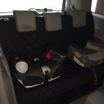 Rear Car Seat Cover with Car Seats