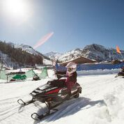 Squaw Vally Mini Snowmobiling