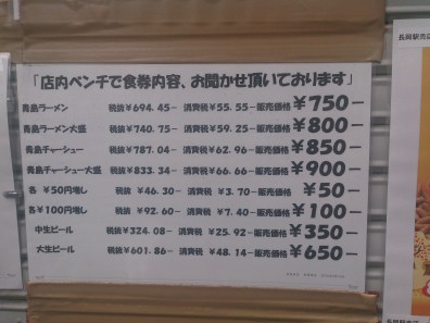 "Menu, You should order ""CHASYU-MEN"" it is the best according everybody in internet...haha"