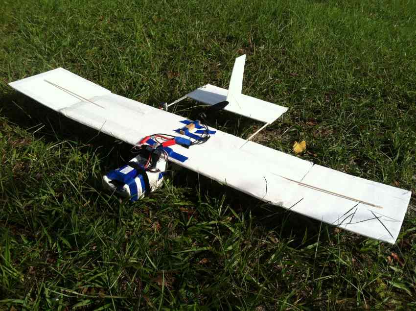 My Scratch Built Electric Pusher Trainer V1