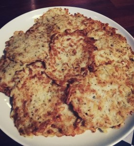 czech potato  pancakes
