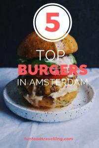 top burgers in Amsterdam