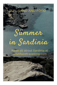 sardinian food and beach