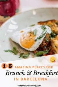 amazing brunch and breakfast places in barcelona