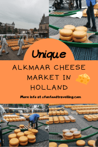 unique alkmaar cheese market as one day trip in Amsterdam