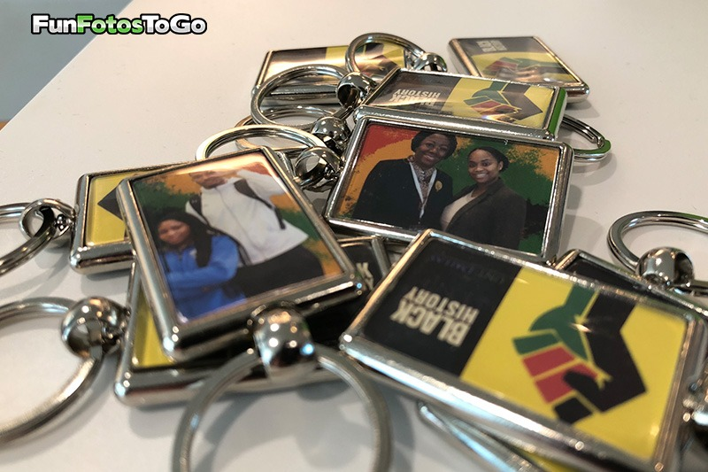 Photo Key Chains for Black History Month