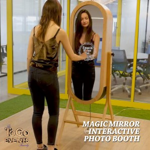 Magic Mirror Photo Booth from To Go Events