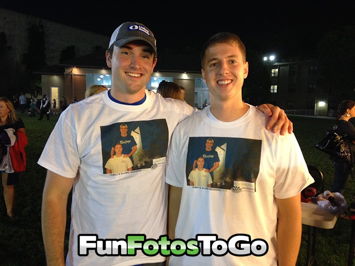Photo T-Shirts for College Special Events