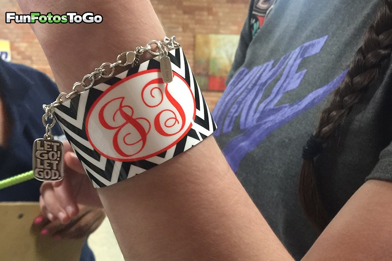 Monogramed Cuff Bracelets are a hit