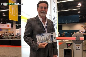 License plates for trade shows